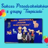 """Sukces Przedszkolaków z grupy """"Tropiciele"""""""