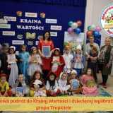 Bajkowa podróż do Krainy Wartości i dziecięcej wyobraźni grupa Tropiciele