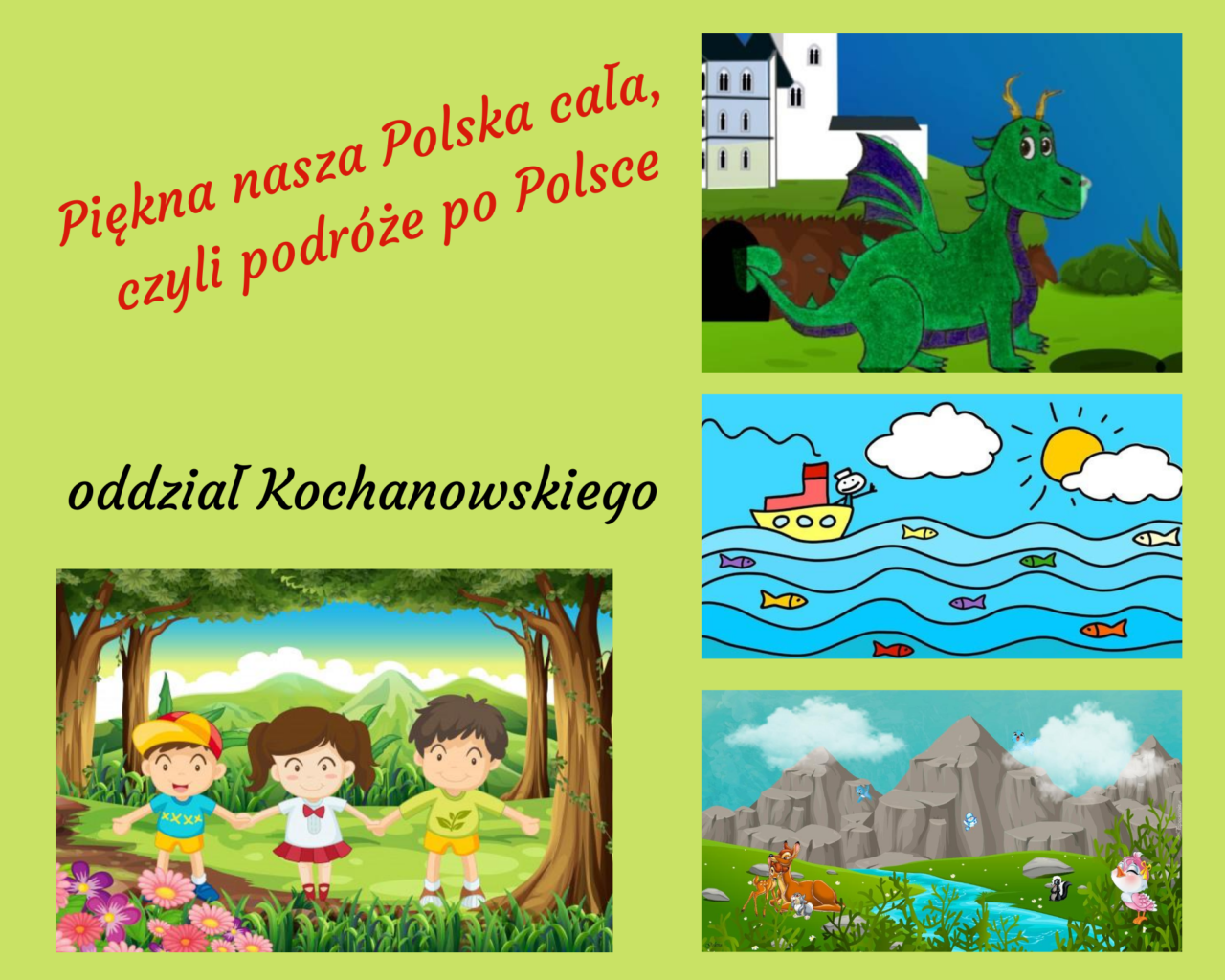 1. Piękna nasza Polska cała, czyli podróże po Polsce