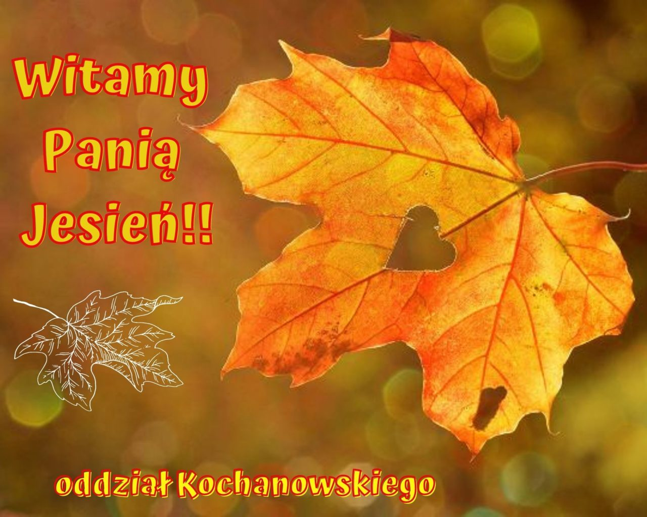 1.Witamy Panią Jesień!!