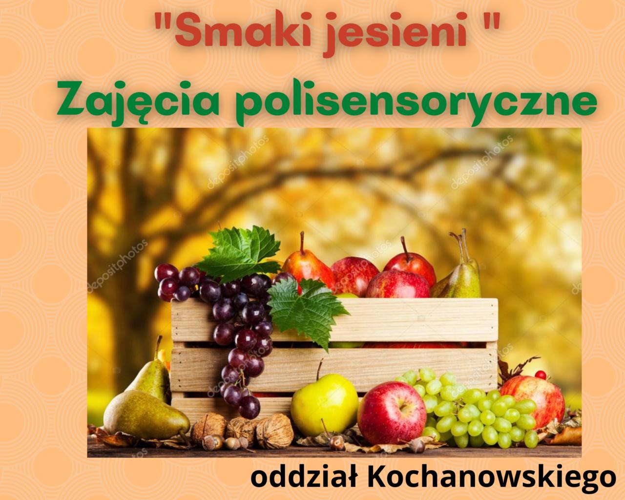 1._Smaki jesieni _ Zajęcia polisensoryczne