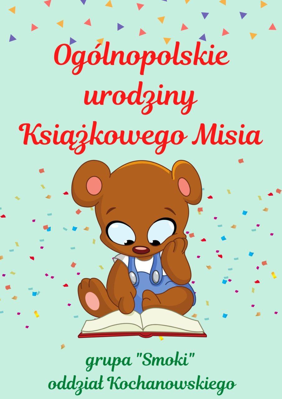 Ogólnopolskie urodziny Książkowego Misia