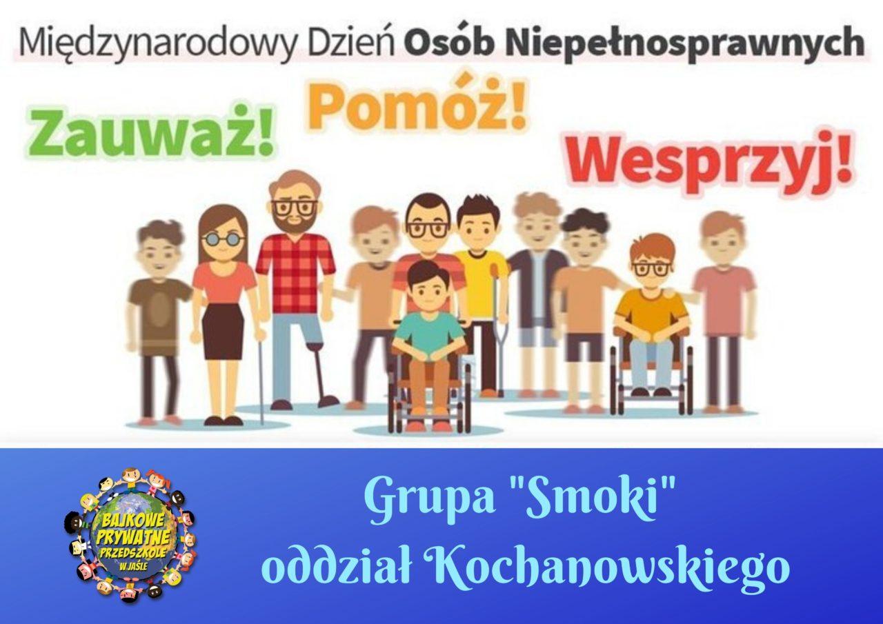1.Grupa _Smoki_ oddział Kochanowskiego